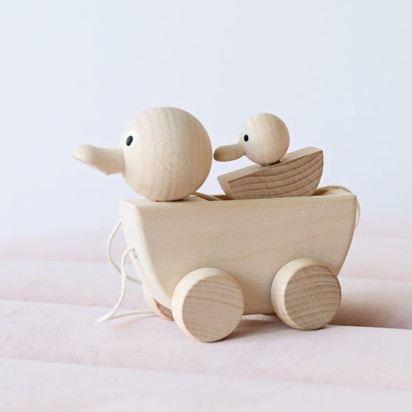 Gracie the wooden duck
