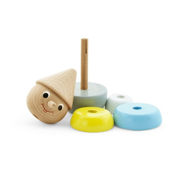 Wooden Stacking puzzle