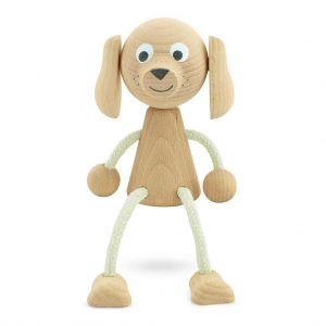 Bailey the wooden dog