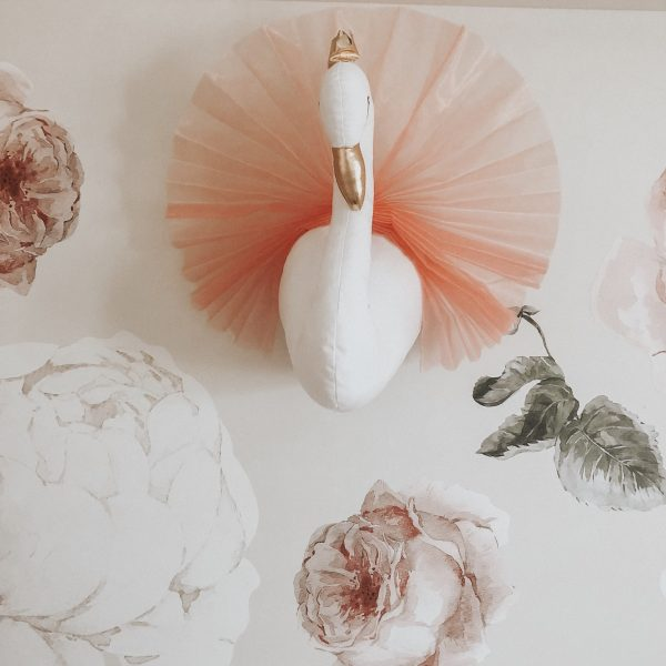 swan wall decor
