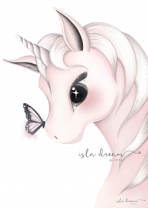 unicorn nursery print