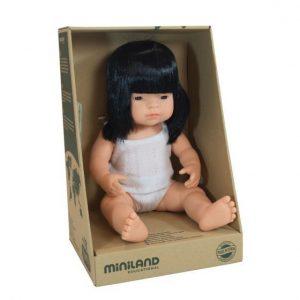 asian miniland doll
