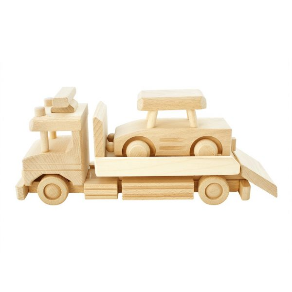 wooden tow truck with car jackson